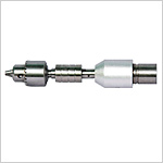 Acetabulum reaming drill attachment B type interface