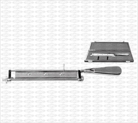 Skin Grafting Knife, Large -S.S. Handle